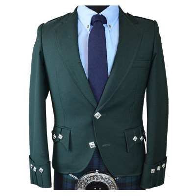 Green Argyle Jacket