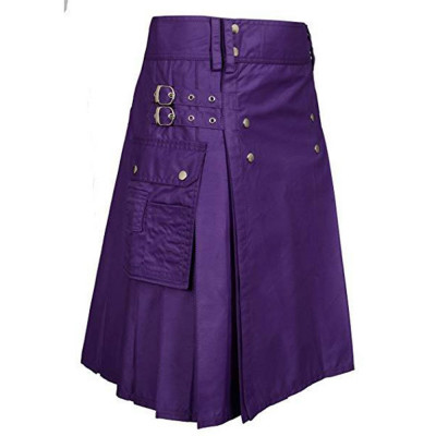 Utility Kilt Purple